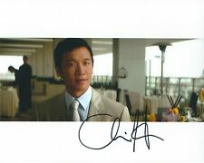 CHIN HAN THE DARK KNIGHT AUTOGRAPHED PHOTO SIGNED 8X10 #3 LAU