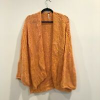 Women's NWT Free People Home Town Sweater Sugar Candy Combo size L