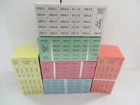 500ct Chinese Auction/Penny social/Penny Sale Tickets - 6 Colors to Choose From