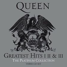 QUEEN - THE PLATINUM COLLECTION: 3CD ALBUM SET (2011 Remastered Edition)