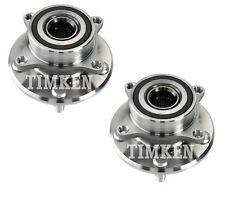 Pair Set of 2 Front Timken Wheel Bearing & Hub Kit for Honda Odyssey 01-17 FWD
