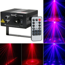 Suny 18 patterns Laser BLUE LED Stage Lighting DJ Xmas Party Disco Show Light