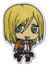 """Attack on Titan CHRISTA SD Iron On Patch 2 1/2"""" x 1 3/4"""" Officially Licensed"""