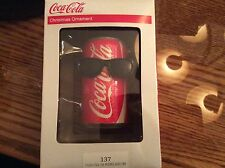 Kurt Adler Coca Cola   Christmas ornament COKE