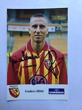 Autogramm FRÉDÉRIC DÉHU-RC Lens 98/99-NS Frankreich-FC Barcelona/UD Levante