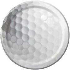 Sports Fanatic Golf 7 Inch Plates 8 Pack Birthday Party Decorations