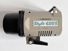 Elinchrom Style 600S Studio Flash Head - Used