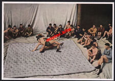 Olympia 1936-Trainingslager Benneckenstein-Ringer-Farbe-sammelbild-2.wk