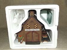 Dept 56 New England Village Pierce Boat Works in original box