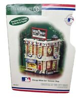 Dept 56 Christmas in the City, Chicago White Sox Souvenir Shop, NEW,  #56-59231