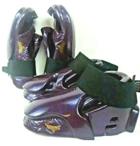 Martial Art Feet Glove Youth Kid Small ProForce Thunder Sparring Pad Purple