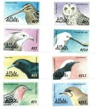 MODERN GEMS - Maldives - Birds - Set Of 8 Stamps - MNH