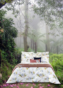 BELLE DE NUIT FROM YVES DELORME , FRANCE, ORGANIC COTTON PERCALE DUVET COVER