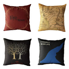 Pillowcase Style  Lord of the Rings Home Decorative Cotton Linen Cushion Cover