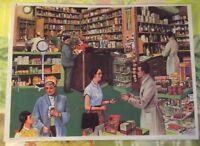 Affiche Set de table Pédagogique 42 x 30cm Apothicairerie Apothicaire Pharmacie