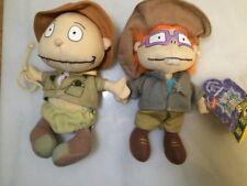Tommy Chuckie The Rugrats Movie Plush Mini Bean Bags (Safari) - Rare