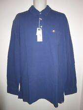 8195398c Southern Tide The Skipjack Beachside Polo Shirt Trim Fit L/s Blue N Coton Sz