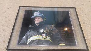 Jesse Spencer (NBC Chicago Fire) signed authentic 8x10 photo COA w/ Frame