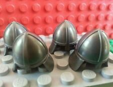 LEGO Bulk Minifig Helmet Neck Protector x4 Castle Pageants Horse Knight Battle