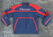 Vintage Tommy Hilfiger Jeans Jacket Coat Men's XXL 2X Spell Out T H