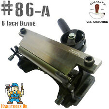 C.S. Osborne 86a Leather Splitting Machine - Skiver - Tapered Skiving Machine