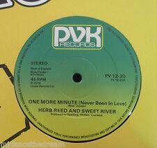 "HERB REED & SWEET RIVER ~ One More Minute ~ 12"" Single"