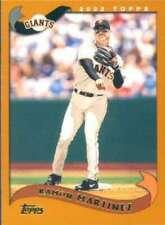 2002 Topps MLB Baseball Trading Cards Pick From List #376-600