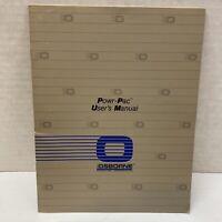 Osborne Computer Power-Pac User's Manual - 1982