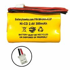 Ni-CD AA300mAh 2.4V Battery Pack Replacement for Emergency / Exit Light