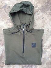 nike air oversized hoodie in olive