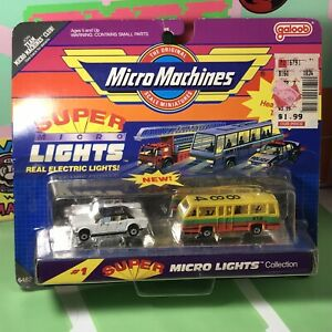 Micro Machines #1 Super Lights Private Limo  Local Transit 1990 New Unopened