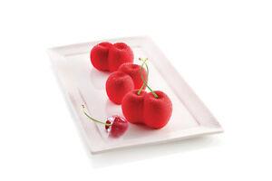 Silikomart 3D Silikon-Backform Mini Kirsche Backform Silikonform Mold Cherry