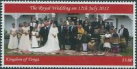 Tonga 2012 SG1662 3p Royal Wedding MNH