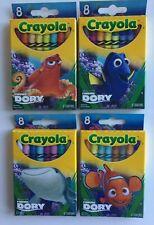 Complete Set Finding Dory Crayola Crayons Hank Dory Nemo Destiny 4 Boxes