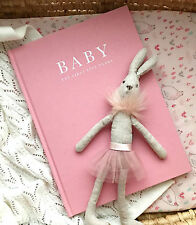 NEW Write To Me Baby Journal Record Book Diary Memory Girls Keepsake Pink Birth