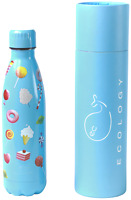 Candy Stainless Steel Metal Sports Cycling Insulated Drinks Water Bottle 500ml