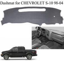 Dashmat For 1998-2004 Chevrolet S10 Car Dashboard Cover Sun Pad Anti-Slip Gray