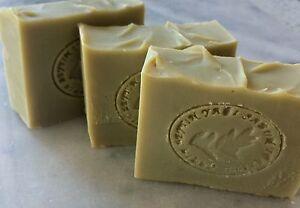 Greek Pure Handmade 100% Green Bio Extra Organic Virgin Olive Oil Castile Soap!