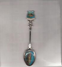 Mildura-Vic-Port of Mildura-PS Avoca-[Ornate Splate 1970s Spoon]-Souvenir Spoon