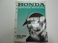 1985 1986 1987 1988 Honda CR80R Service Shop Repair Manual FACTORY OEM BOOK USED