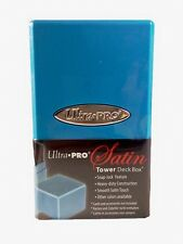 ULTRA Pro Satin Tower Deck Box Deckbox Light-Blue/Blu chiaro