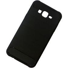 "Custodia Rugged Armor Carbon Design cover p Samsung Galaxy J7 Nxt J701F 5.5"" CN7"