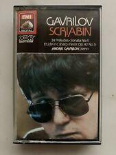 Gavrilov Scriabin 24 Preludes Sonata No.4 EMI Scarce UK Cassette EL2700904