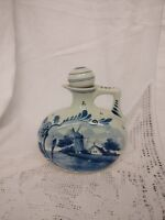 "DELFT BLUE JUG 6"" Tall / DELFT BLAUW FLAGON WITH STOPPER"