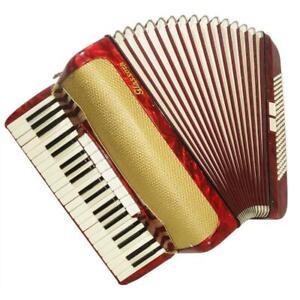 Glassora, 120 Bass, 11 Registers, Rare German Piano Accordion, Stradella, 1132