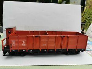 LGB 4 achser Güterwagen mit Bremserhaus 4062 , wie neu im Karton