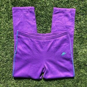 VTG 70s/80s Purple Nike Blue Tag Poly Cotton Acrylic Gym Running Pants M 32-34