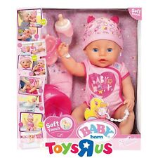 Baby Born 824368 Soft Touch Girl Doll with Blue Eyes