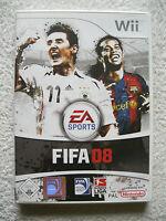 FIFA 08 (Nintendo Wii, 2007, DVD-Box) Fußball