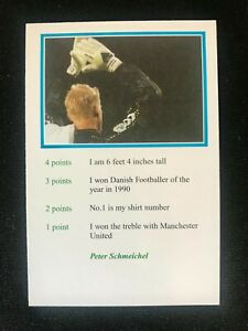 Peter Schmeichel 1999 A Question Of Sport Football, Mint Condition Pack Fresh